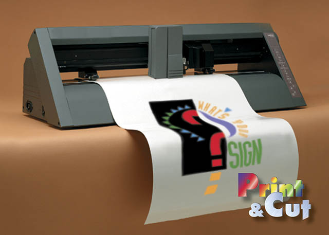 1995 Roland introduces the world's first print/cut device for vinyl with the original ColorCAMM, the PNC-5000.