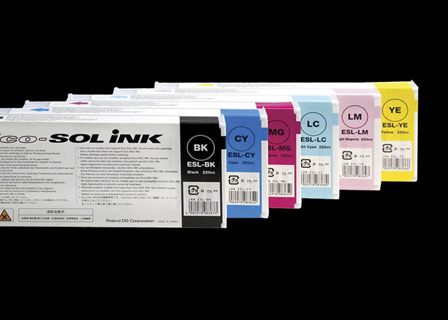 2003 The revolutionary new Eco-SOL mild solvent ink is launched, enabling VersaCAMM and SOLJET inkjets to print directly onto both coated and uncoated media.