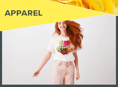 Create apparel with a print and cut machine